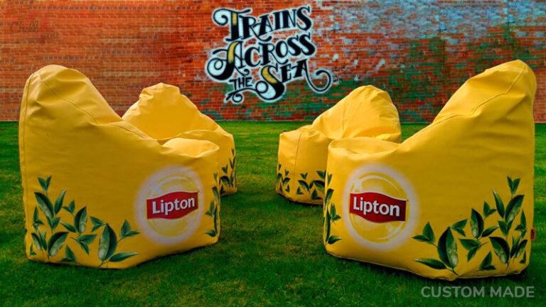 TRÜKITUD PILDIGA KOTT-TOOL Lipton